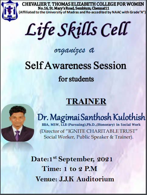 Self Awareness Session Invite