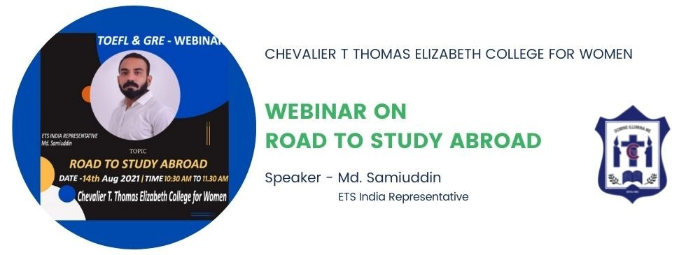 Webinar on Road to Study Abroad