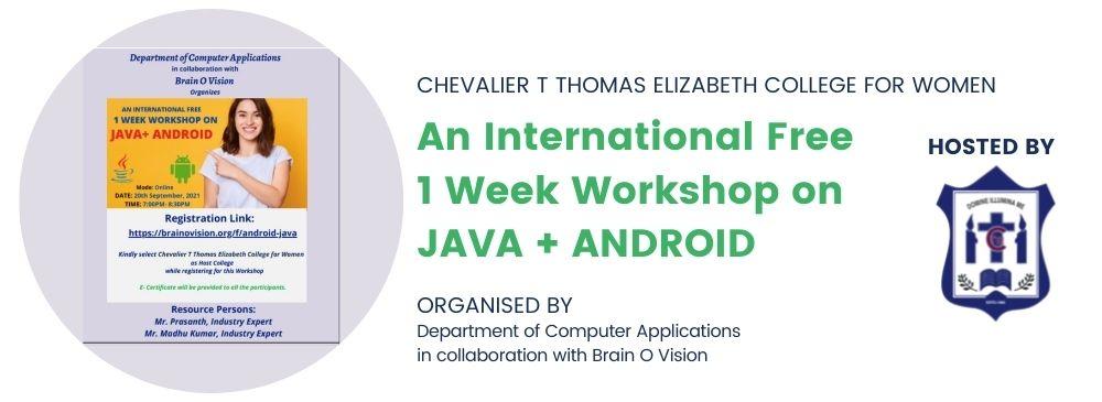 Workshop on Java+Android