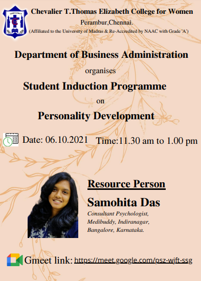 Student Induction Programme