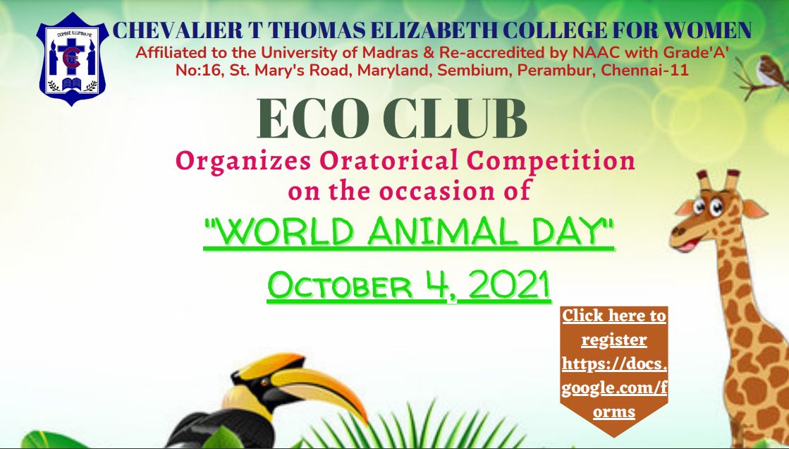 Oratorical Competition_CTTE College for Women | Arts and Science College in Chennai